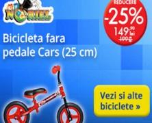 Reduceri de pret de pana la 25% la Biciclete la Noriel