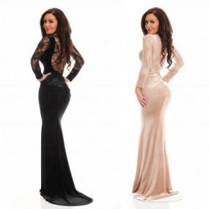 Rochie LaDonna Elegant Appear Black / Cream