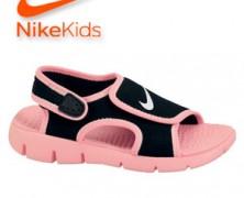 Sandale Nike reglabile cu arici pentru copii si bebe