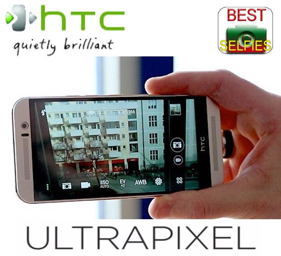 HTC One M9 - Camera foto tehnologie Ultrapixel