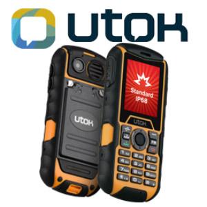 Telefon mobil clasic rezistent UTOK Dorel 2