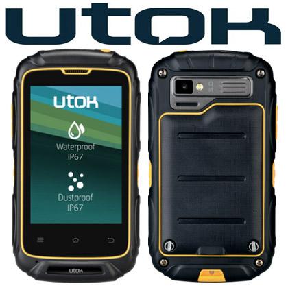 Smartphone rezistent la apa, socuri si praf UTOK DOREL