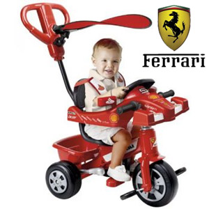 Tricicleta pentru baieti Ferrari Feber