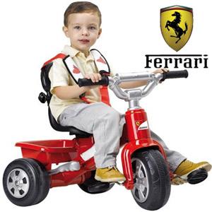 Tricicleta Ferrari Feber pentru baieti 10 luni +