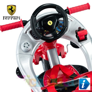Tricicleta Ferrari Feber pentru baieti