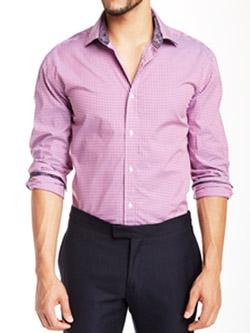 Camasa barbateasca culoare roz firma Bristol Bull
