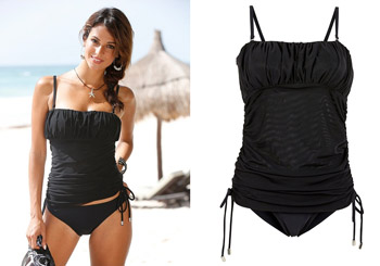 Costum de baie Tankini negru