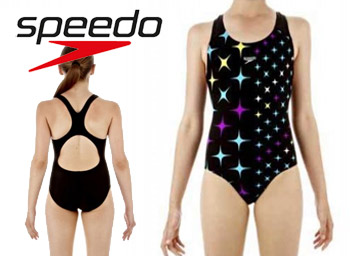Costum de inot fete Motionkick Splashback Speedo 8 10 ani