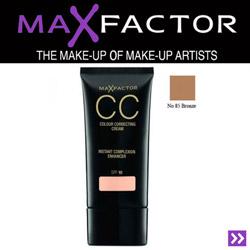 Crema coloranta pentru ten Max Factor CC Cream cu protectie solara