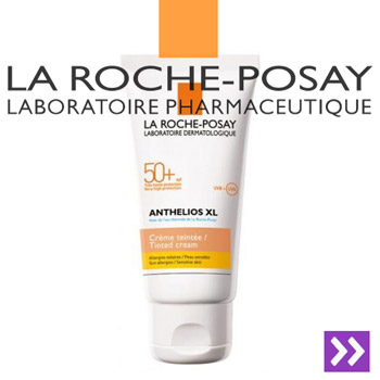 Crema fondanta colorata La Roche Posay Anthelios XL SPF50+ 50ml Protectie foarte ridicata UVA-UVB