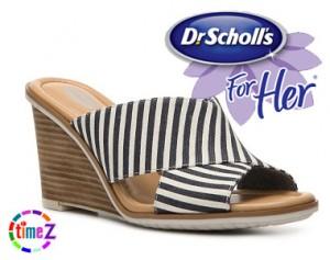 Sandale cu platforma Dr Scholl`s Jade Wedge Sandal