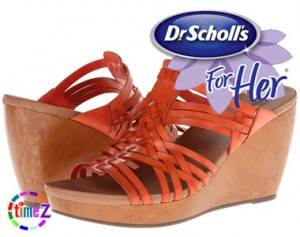 Sandale cu platforma Dr Scholl`s Magan