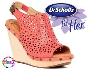 Platforme Dr. Scholl`s Alana Wedge Sandal