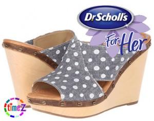 Sandale Dr Scholl`s cu platforma Farida Original