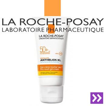 Gel-crema efect uscat La Roche Posay Anthelios XL SPF50+ 50ml
