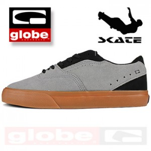 Pantofi Sport Skate Globe The Sabbath de culoare gri