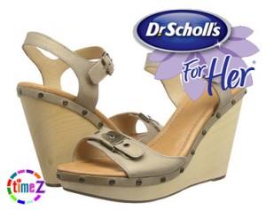 Sandale dama Dr Scholl`s cu platforma Lucia