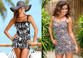 Modele frumoase de costume de baie dama Tankini