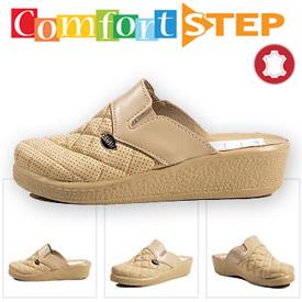 Papuci cu talpa ortopedica Comfort Step pentru femei