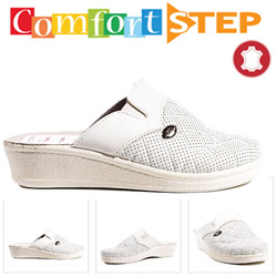 Papuci doctor cu talpa ortopedica Comfort Step