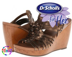 Sandale femei Dr. Scholl`s Magan cu platforma