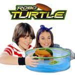 Set acvariu si Testoasa Robo Turtle verde