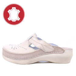Saboti si papuci din piele LEON