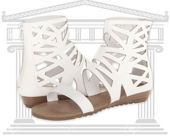 Sandale piele Gladiator Carlos Santa Hilo