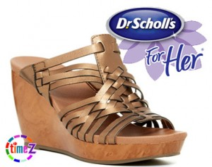 Sandale dama cu platforma Magan Dr. Scholl`s Wedge