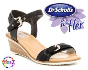 Sandale femei Dr. Scholl`s Glendale cu platforma