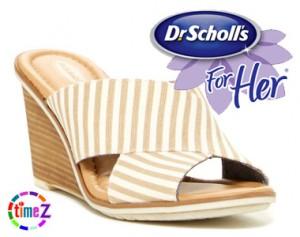 Sandale dama cu platforma Dr. Scholl`s Jada Wedge Sandal