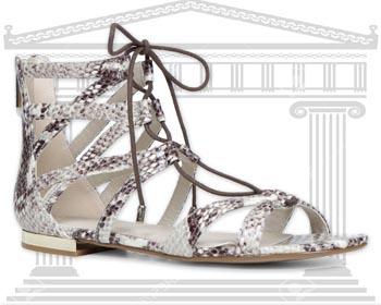 Sandale dama Gladiator Aldo de culoare gri