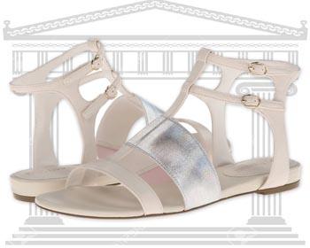 Sandale din piele Enzo Angiolini Nyri Sandale Romane