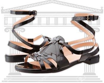 Sandale Fashion Gladiator Stuart Weitzman Greek