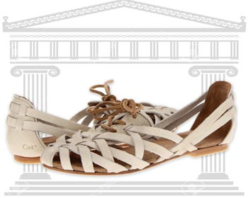 Sandale dama Caterpillar Casual Criss Cross