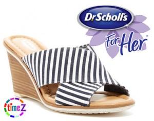 Sandale femei Dr.Scholls Jada Wedge cu platforma