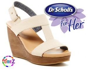 Sandale femei Dr.Scholls Mica cu platforma