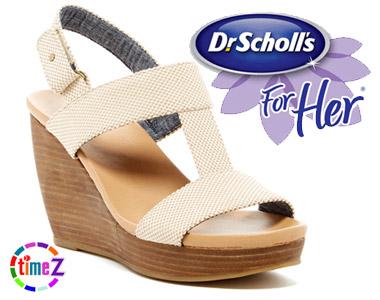 Sandale elegante cu platforma Dr Scholl