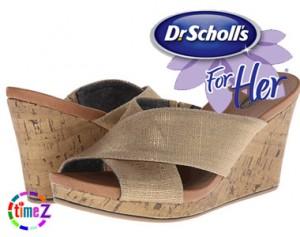Sandale femei Dr.Scholls Selma cu platforma