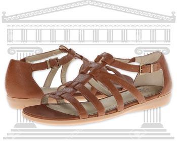 Sandale Romane din piele Lifestride Flatiator