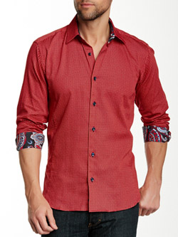 Camasa rosie barbati Jared Lang