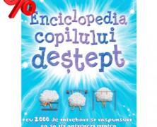Carte de vacanta pentru copii Enciclopedia copilului destept