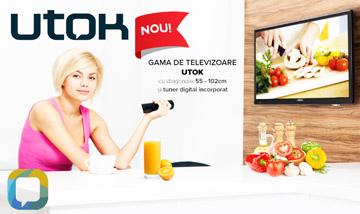Televizoarele digitale UTOK - pregatite pentru viitor