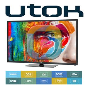 Cel mai performant televizor led utok la pret redus U40FHD full hd 40 inch