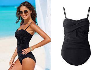 Costume de baie modelatoare la preturi mici - BPC negru