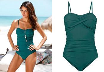 Costume de baie modelatoare la preturi mici - BPC verde
