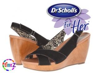 Sandale dama Dr Scholl`s cu platforma Melonie