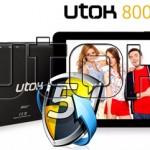 Pret redus la Tableta UTOK Quad Core 800Q