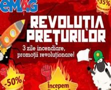Revolutia Reducerilor eMAG 2015 3 zile de reduceri substantiale