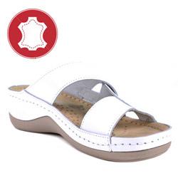 Saboti si papuci ortopedici dama LEON din piele
